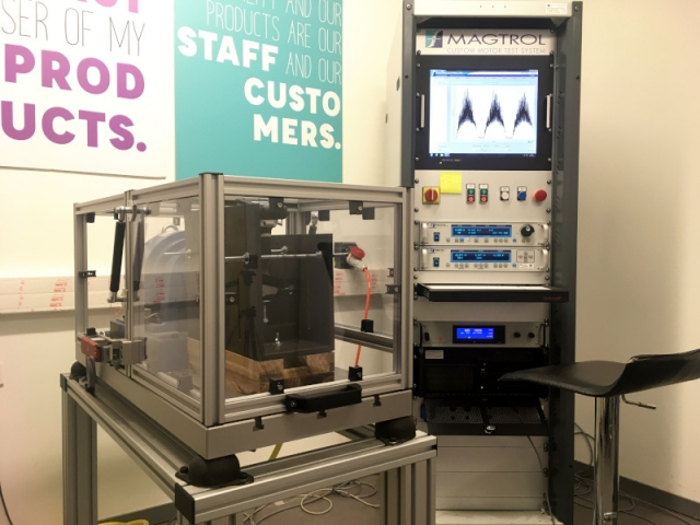Cet appareil, conçu pour le laboratoire performance, teste les outils de bricolage comme les perceuses-visseuses
