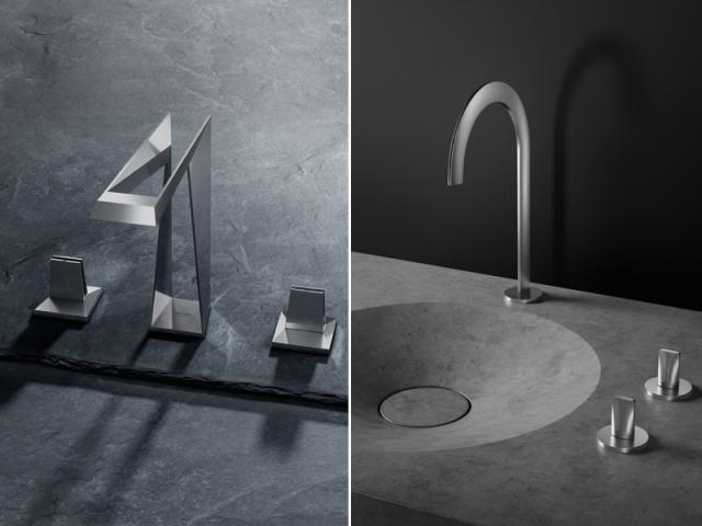 Les robinet Allure Brillant Icon 3D et Atrio Icon 3D