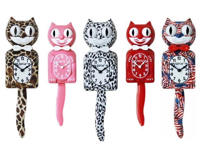 Horloge Kit Cat, Bathroom Graffiti, prix : à partir de 59,90 €