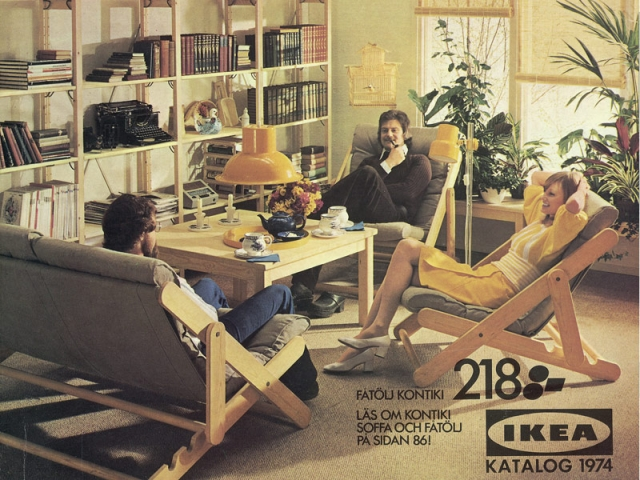 Catalogue Ikea, 1974