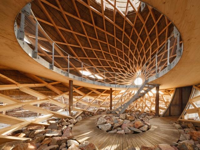 Une structure intérieure en nid d'abeille