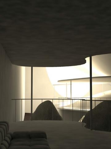 La maison imaginée par l'agence UR pour Thomas Pesquet