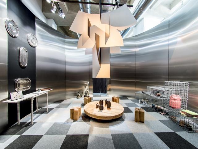 Entrée par Clément Brazille pour l'exposition Places to be à la Fondation d'entreprise Martell