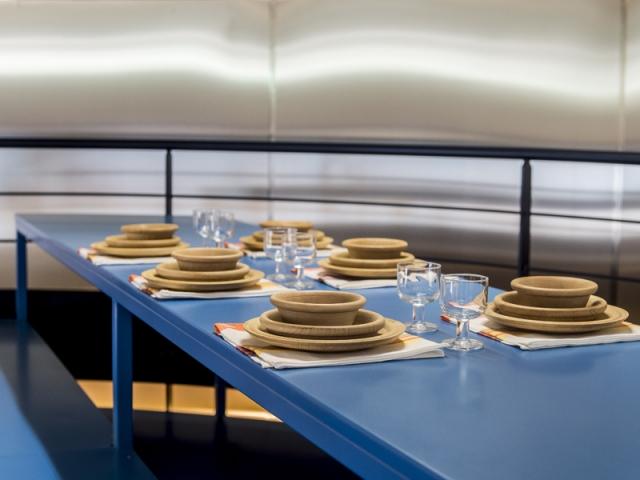 Cuisine par matali crasset pour l'exposition Places to be à la Fondation d'entreprise Martell