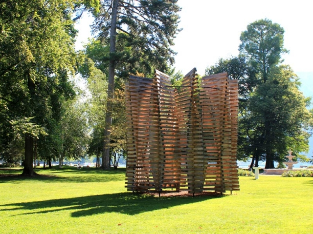 Pavilion Uguns, de Didzis Jaunzems, pour Annecy Paysages