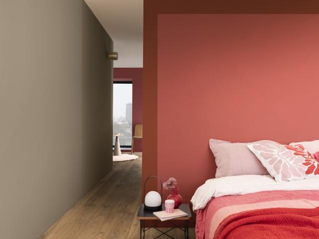 """""""Terre d'argile"""", une couleur parfaite pour adoucir le rouge"""