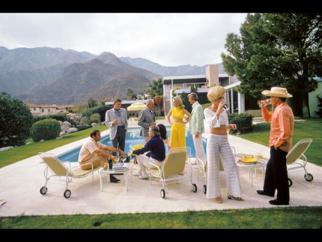 (Palm Springs, Californie, conception Richard Neutra). Photo extraite de l'ouvrage, <i>Le style années 50, l'intégrale</i>, de D. Bradbury,éditions Parenthèse, 2020.