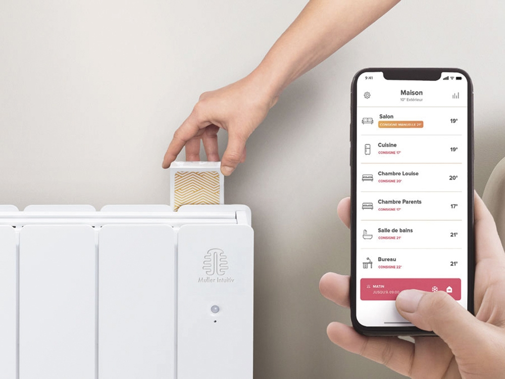 Solution chauffage connecté Muller Intuitiv with Netatmo