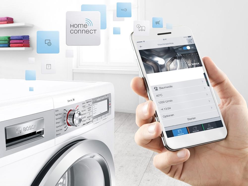 Electroménager connecté - Application Home Connect de Bosch