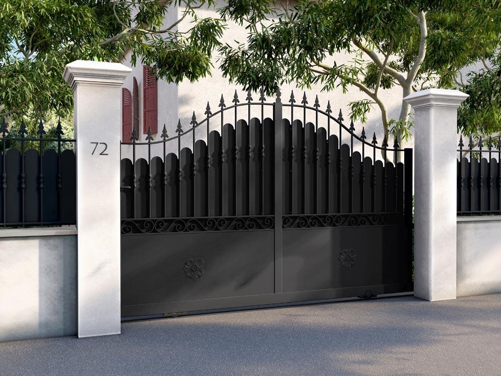Un portail esthétique pour un ensemble cohérent
