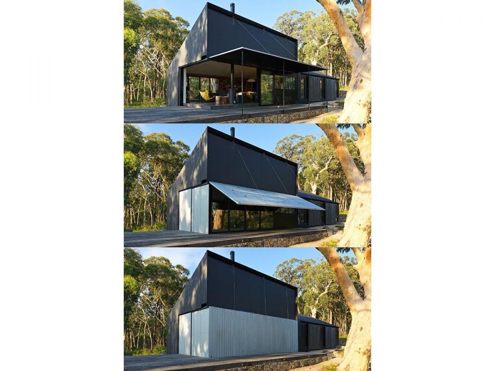 Maison australienne feux Simon Anderson