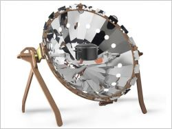 Un barbecue solaire écologique et design