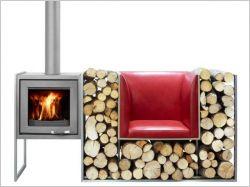 Stockage bois : des solutions pratiques et esthétiques