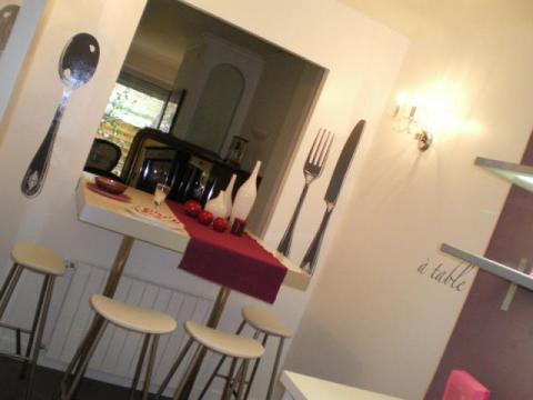 Avant apr s une cuisine ouverte et familiale maisonapart for Porte ouverte salon degermann